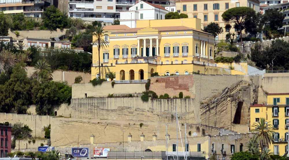 Villa Doria d'Angri vista dal mare